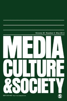 Table of contents for Media, Culture & Society, Jan 2015 Sage Publications, Open Access Journals, Mass Culture, Information And Communications Technology, Hollywood Cinema, Media Studies, Sociology, Journalism, Identity
