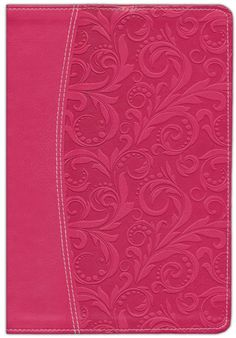 NIV Life Application Study Bible, Imitation Leather Honeysuckle Pink, Thumb-Indexed. Love the way this bible helps me understand things!