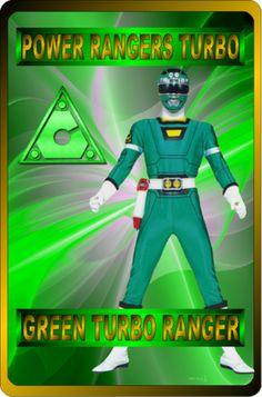 Green Turbo Ranger by rangeranime on Power Rangers Morph, Power Rangers Turbo, Power Rangers Fan Art, Power Rangers In Space, Power Rengers, Green Ranger, American Series, Social Community, Comic Art