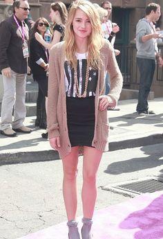 Katelyn Tarver from Big Time Rush... I met her! :)