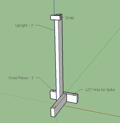 Portable Fence Posts - Learn to build a portable fence post!  You can learn more at our YouTube channel here:  https://youtu.be/-ffRBGLPCVI
