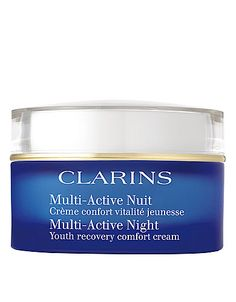 Multi-active night youth recovery comfort cream. Say goodnight to early wrinkles! #lordandtaylor #renewyear