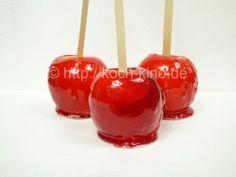 Kandierte Äpfel, Paradiesäpfel, Liebesäpfel