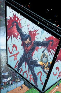 Nightwing #23 par Brett Booth comicspournoob.com