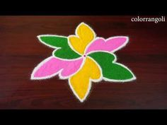 Rangoli Designs Latest, Rangoli Designs Flower, Small Rangoli Design, Rangoli Designs Diwali, Diwali Rangoli, Rangoli Designs With Dots, Rangoli Designs Images, Rangoli With Dots, Arabic Mehndi Designs