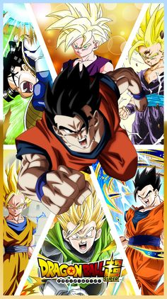 Gohan (Saiyaman), from his training with Piccolo to his fight in the tournament of power in Dragon ball Super. Dragon Ball Z, Dragon Z, Goku Y Vegeta, Kid Goku, Ball Drawing, T Art, Animes Wallpapers, Illustrations, Deviantart