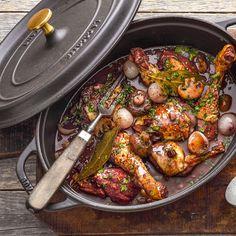 Rezept für Coq au vin | Küchengötter