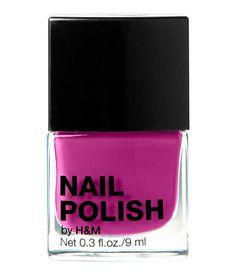 FRENCH KISS // H&M nail polish