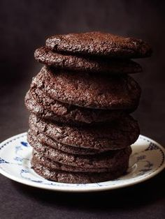 Chocolate-Chocolate Cookies Recipe : : Recipes : Cooking Channel
