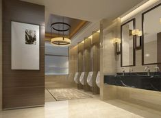 Amazing Public Bathroom Design Ideas 10 - Home Interior and Design Ada Bathroom, Office Bathroom, Bathroom Toilets, Bathroom Interior, Modern Bathroom, White Bathroom, Commercial Bathroom Ideas, Commercial Toilet, Commercial Plumbing