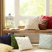 Found it at Wayfair - Alda Pintucked Pillow Cover