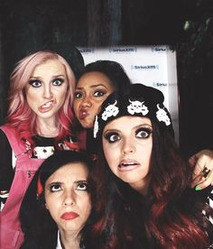 Little Mix :) i make the same face as perrie in my funny pictures!!!!! :D