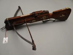 Crossbow , German / Hanover dated 1672 - . Jürgen H. Fricker Historical Weapons
