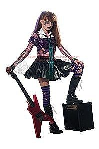 Zombie Punk Rocker Costume If your girl is looking for 80s Halloween Costumes with real attitude  sc 1 st  Pinterest & 80u0027S PUNK ROCKER Halloween Costume (I love this. L will make such a ...