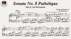 Sonata No. 8 Pathétique Op.13, 3rd Movement - Ludwig van Beethoven, Piano https://youtu.be/V8W69EyxEjk