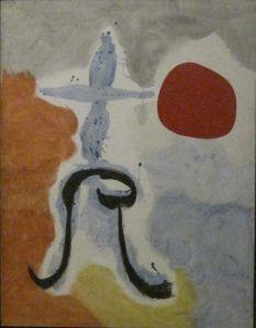 "Joan Miro ""Woman in Front of the Sun"" 1949"