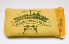 Charleston Gold Rice - like this packaging