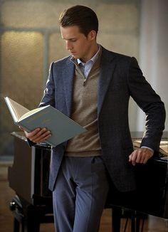New Fashion Winter Men Casual Guys Ideas Business Attire For Men, Fashion Business, Business Casual Outfits, Look Fashion, New Fashion, Trendy Fashion, Male Fashion, Fashion Sites, Fashion Trends