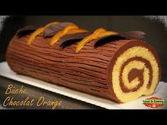 ❅ Recette de Bûche de Noël Chocolat Orange ❅ - YouTube