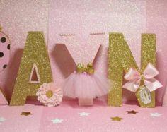 Oro y rosa Minnie Mouse Party partido de por HeidiPartyCreations