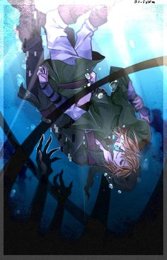 Ben and Link - drowned in the sea - by 123Shei-chan321.deviantart.com on @DeviantArt