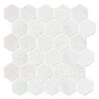San Dona Polished 2 x 2 in Hex $14.99 Sq Ft      Coverage 10.00 Sq Ft per  Box