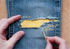 Cool way to patch holes