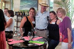 Texas Wine Tour -- This is our tour guide Jerry with one of his groups at 4.0 winery. They all had a great time. Click picture to go to our website.