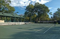 Palmetto Dunes Tennis Center court  Via Palmetto Dunes Oceanfront Resort