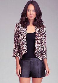 I don't normally do animal print, but I think this is cute