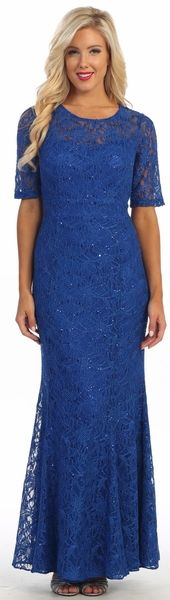 Modest Lace Dress Royal Blue Mid Length Sleeves relationship wants / royal blue dress for wedding / royal blue wedding dress / blue wedding dress royal / royal blue wedding Evening Dresses For Weddings, Blue Wedding Dresses, Evening Gowns, Wedding Attire, Modest Lace Dress, Modest Bridesmaid Dresses, Bridesmaids, Prom Dresses, Blue Dresses For Women