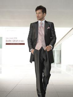 タキシード ネイビー Fashion Suits, Mens Fashion, Groom Suits, Formal Dresses, Wedding Dresses, Human Body, Tuxedo, Dress Up, Pink