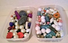 A Job Lot of Mixed Beads for Jewellery Making or Craft. Jewelry Making Beads, Jewellery Making, Beaded Jewelry, Bead Kits, Blue Beads, Crafts To Make, Color Mixing, Glass Beads, Ebay