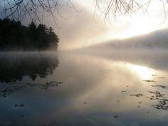 Sunrise over Paradox Lake, taken by my friend Gary Stern.