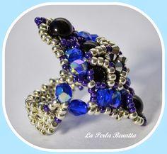 Toscana Blue Ring