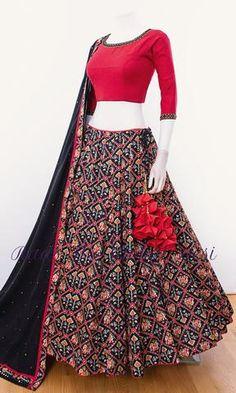 choli-Raas The Global Desi-[chaniya_choli]-[chaniya_choli_for_garba]-[chaniyacholi]-[chaniyacholi]-[chaniya_choli_online_usa]-Raas The Global Desi Indian Gowns Dresses, Indian Fashion Dresses, Dress Indian Style, Indian Designer Outfits, Lehenga Choli Designs, Choli Blouse Design, Blouse Designs, Designer Bridal Lehenga, Chaniya Choli Designer