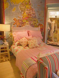 Cosy Cath Kidston style bedroom