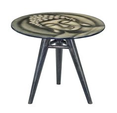 GALLERY END TABLE - ROUND (BUDDHA)  $199.00