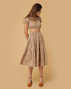 The Margot Two Piece Cherry Blossom Floral