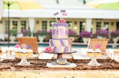Colorful New Years Eve Wedding Inspiration