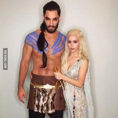 Khal Drogo and Khaleesi Cosplay