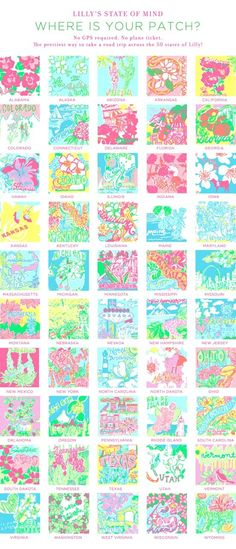 50 States of Lilly