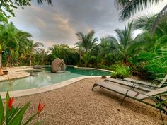 *Walk to Guiones Beach*New*Saltwater Pool*Cool tropical comfy, fun home! Pool Chlorine, Nosara, Dog Cafe, Clean Beach, Pool Filters, Dog Beach, Cool Pools, Stunningly Beautiful, Ideal Home
