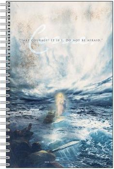 """Jesus on the Water """"Come""""  Journal"""
