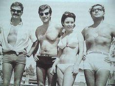 Müşfik Kenter, Ekrem Bora, Fatma Girik, Zeki Müren (1970ler) #nostalji #birzamanlar #istanlook