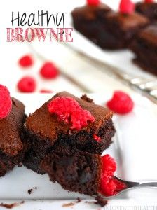 We all love brownies, check out this recipe on how to make HEALTHY brownies! #Fitgirlcode #healthy #recipe