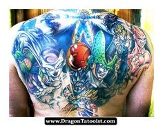 Tattoos De Dragon Ball Z 04 - http://dragontattooist.com/tattoos-de-dragon-ball-z-04/