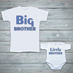 Big brother i little brother - zestaw dla rodzeństwa - Poczpol. Big Brother Little Brother, Fashion Kids, Body, Onesies, Oxford, Clothes, Outfits, Clothing, Kleding