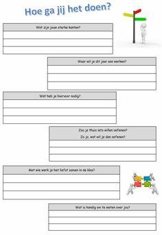 Voor een portfolio, om aan het begin van het jaar je leerlingen te leren kennen of na het nieuwe jaar als start!