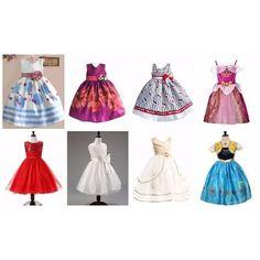 Vestido Infantil Festa Criança Princesa Laço Pronta Entrega - R$ 99,00